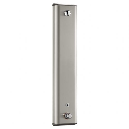 Delabie 792403 SECURITHERM Thermostatic Electronic Infrared Shower Panel - Stainless Steel